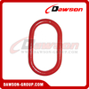 G80 / Grade 80 Alloy Steel Master Link with Flat for Chain Slings / Wire Rope Slings