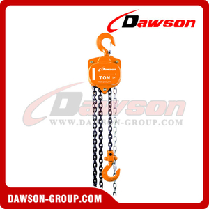 DS-HSZ-A 622 Series 0.5T - 20T Chain Block for Installing of Machinery