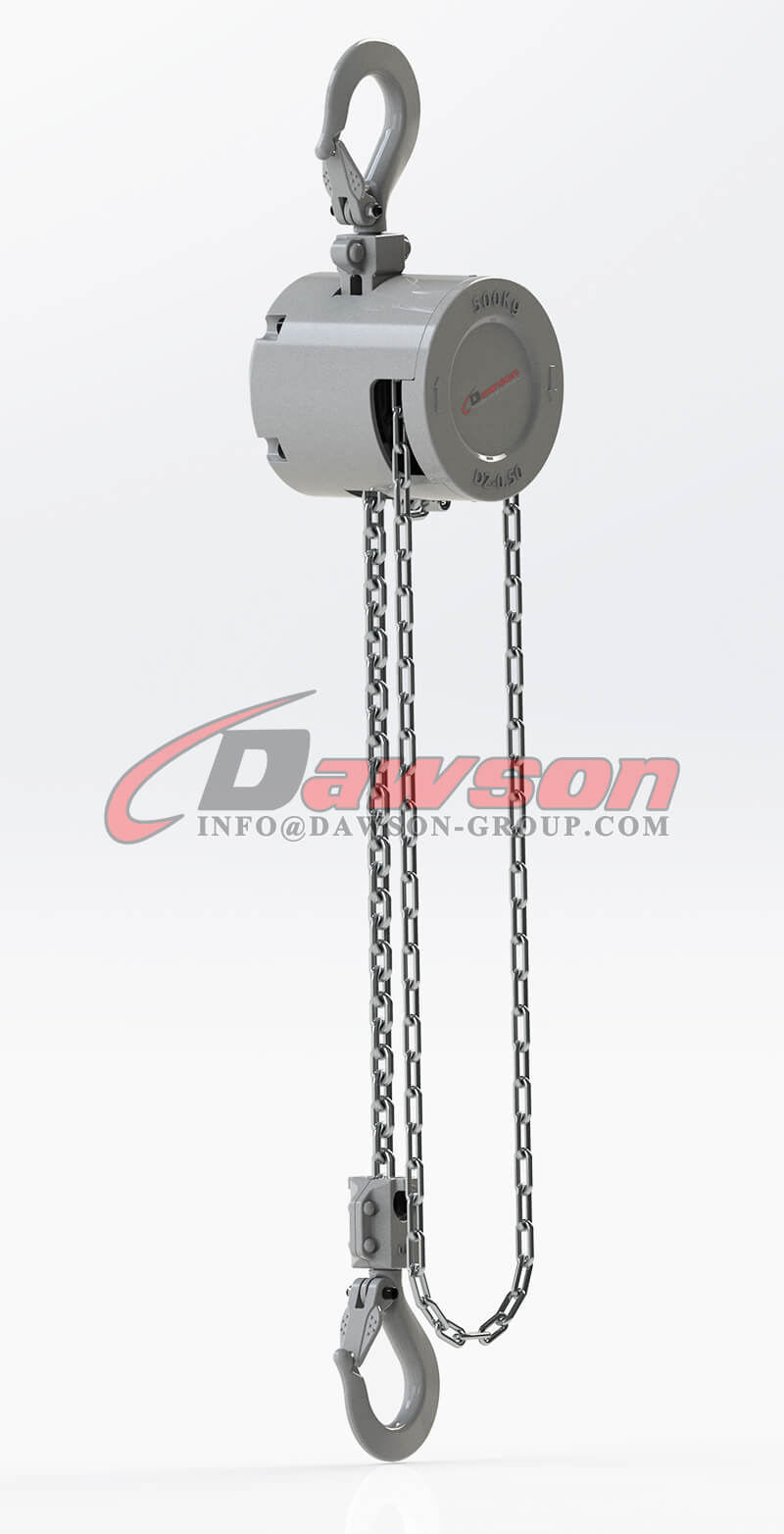 250KG Mini Aluminum Alloy Chain Hoist, Chain Block - Dawson Group Ltd. - China Manufacturer