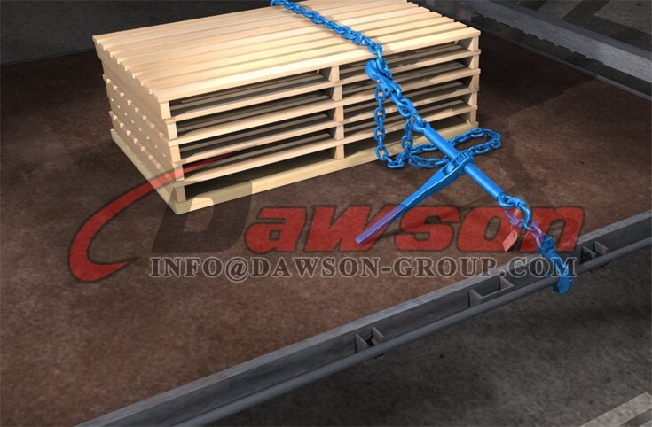 Application of G100 Forged Ratchet Load Binder without Hooks for Lashing - Dawson Group Ltd. - China Supplier, Factory