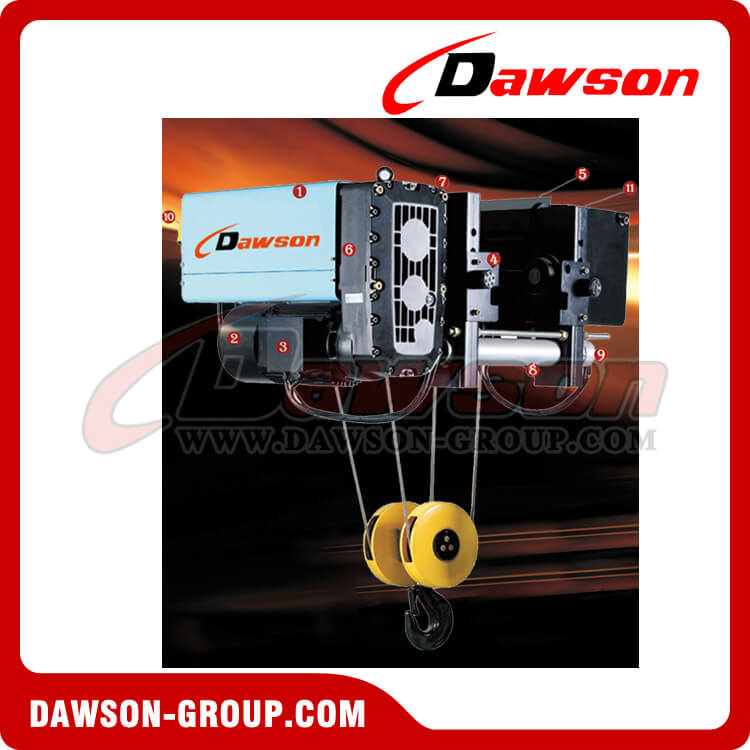 Single Girder Electric Hoist - Dawson Group Ltd. - China Manufacturer