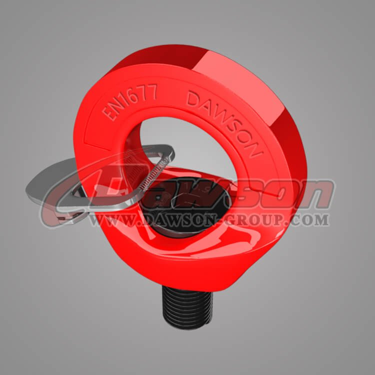 G80 Eye Type Rotating Ring, EN1677 G80 Eye Shaped Swivel Ring Bolt - China Manufacturer, Supplier