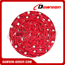 Grade 100 D-Shape Forestry Chain, G100 Welded Link Chain