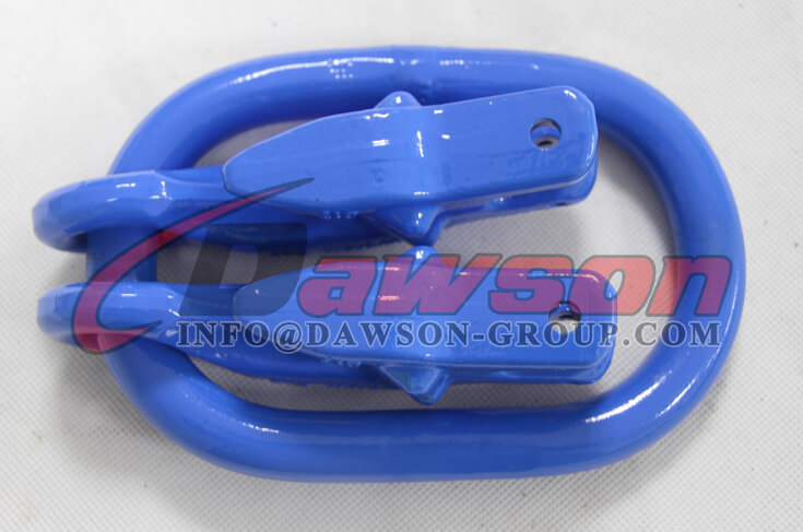 G100 Forged Master Link with 2 Eye Grab Hook with Clevis Attachment for Adjust Chain Length - Dawson Group - China Exporter