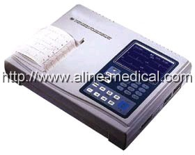 Three/Six Channel Interpretive ECG Machine
