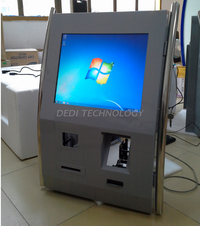 Dedi Wall Mounted And Counter Top Crypto ATMs, Crypto Currencies ATM With Complete Package Solution