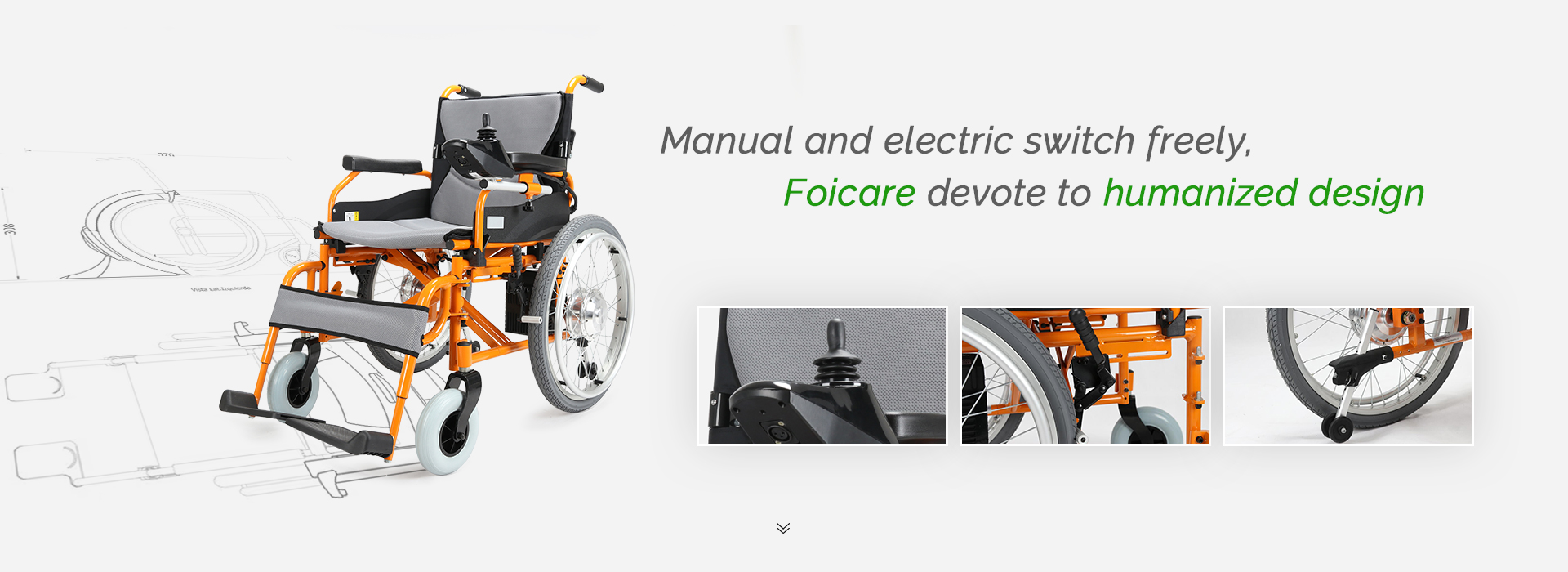 Manual and Electric Wheelchairs Design