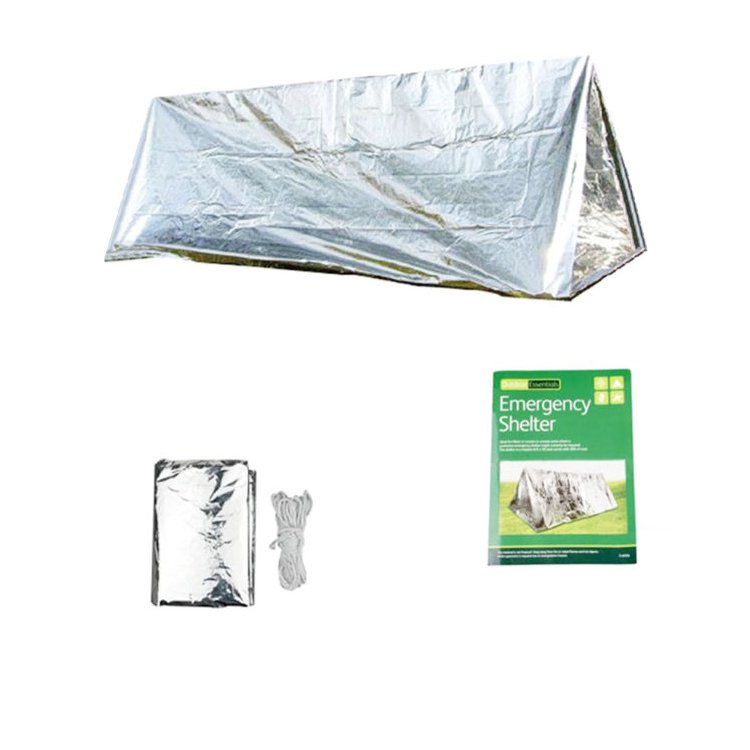 Emergency warming survival mylar blanket portable Survival Reflect Emergency Tent