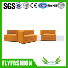 Living room furniture fabric with sponge recliner sofa OF-53