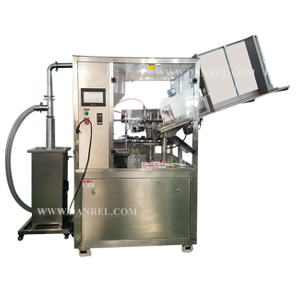 Fully Automatic Metal Tube Filling And Sealing Machine with Charging Machine