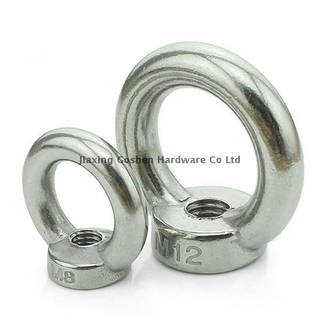 din582 metric m6 stainless steel eye nut for lifting