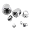 Stainless steel 10mm Acron nut A2-70