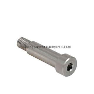 M20 stainless steel hex head shoulder bolts used on the machinery