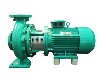 Horizontal short shaft suction pump