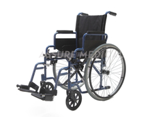 YJ-026D Steel manual wheelchair
