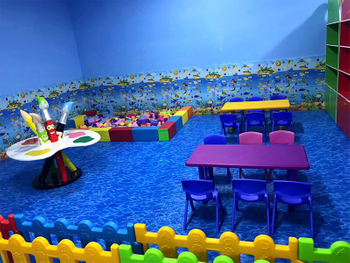 Ocean Theme Indoor Playground -South Korea