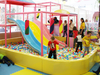Candy Theme Indoor Playground -Russia