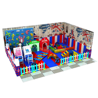 Customized Small Amusement Soft Toddler Indoor Playground Toys