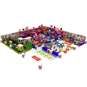 Customized Amusement Park Kids Indoor Gym Soft Play Equipment