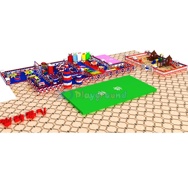 Commercial Amusement Park Indoor Playground Equipment for Mall