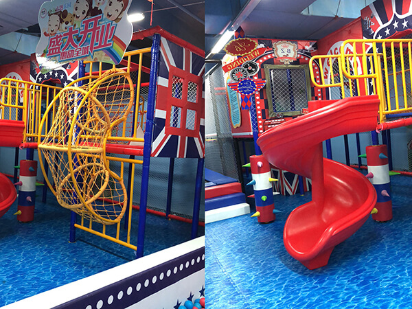 England theme kids soft indoor playground