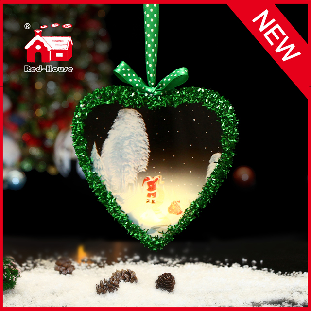 New Products Heart Shaped Hanging Decorations in 2015