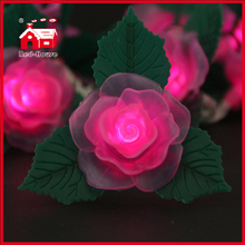 LED Lights LED Battery Light Rose String Light Christmas Holiday Decoration