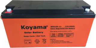 12V 150Ah Solar Gel Battery