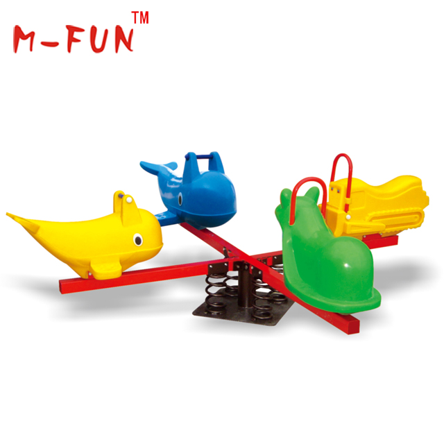 Eco-friendly and funny plastic seesaw