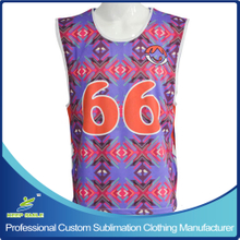 Custom Made Boy's Single Ply Sublimated Reversible Top
