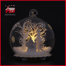 Multi Inside Designs LED Christmas Decoration Glass Balloon Decoration Glass Christmas Decoration Glass Giftware