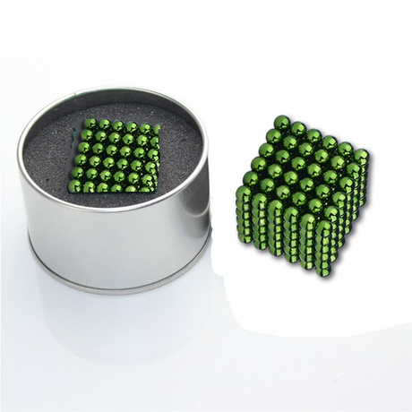 5mm 216pcs/set colorful neocube magnetic ball gift for intelligent