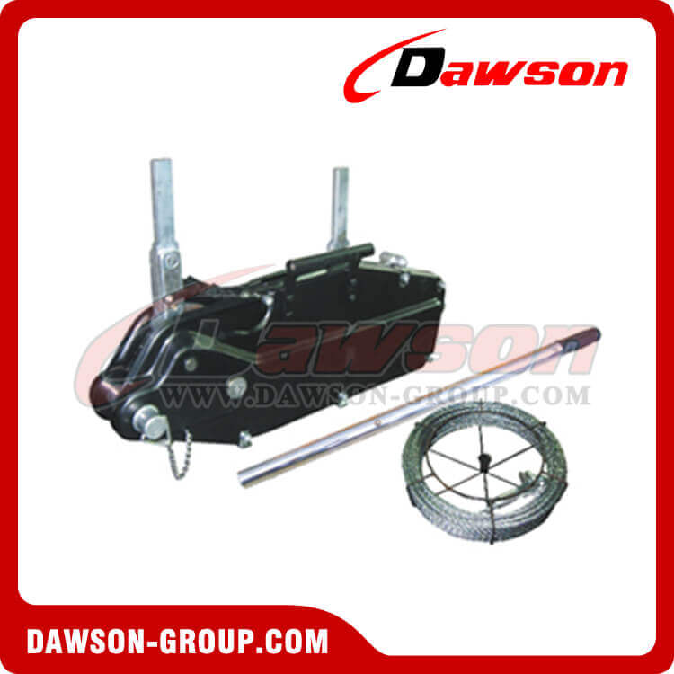 Steel Body Wire Rope Pulling Hoist, wire rope winch, wire rope ...
