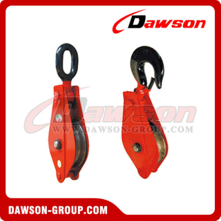DSPB-F1 Single Open Hook Pulley