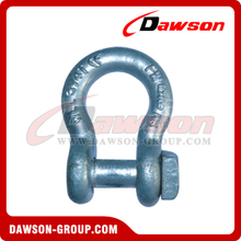 Forged Trawling Bow Shackle with Square Head
