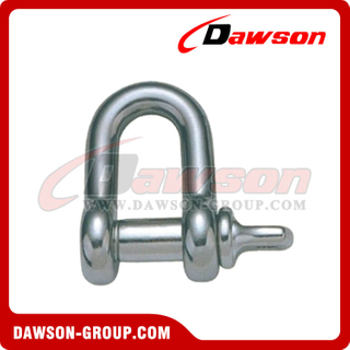 Stainless Steel US Type Dee Shackle