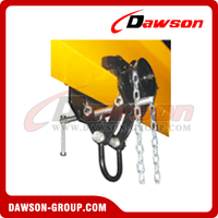 DS-TCSG Type Gear Trolley Clamp with Shackle