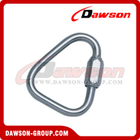 Delta Shaped Quick Link Zinc Plated