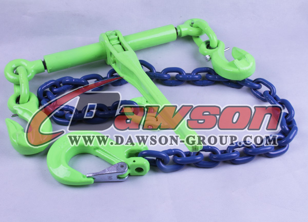 G100 Rachet load binder with eye grab hooks with Safety Pin - Dawson Group Ltd_ China Manufacturer