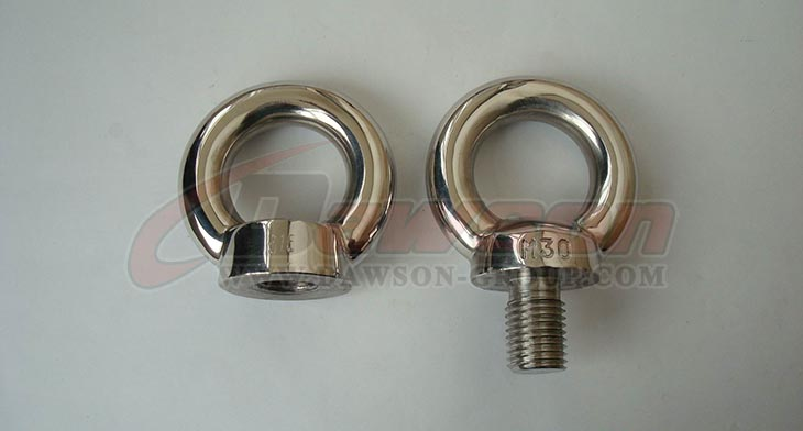 Stainless Steel DIN 580 Eye nut