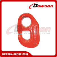 G80 / Grade 80 Alloy Steel Forged DV Hook for Fishing and Overseas Rigging
