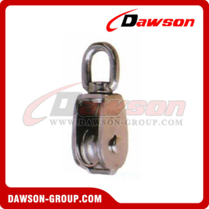 Stainless Steel Swivel Block Single Sheave