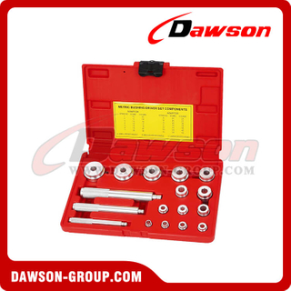DSHS-E2011 Brake & Wheel Repair Tools Metric Bushing Driver Set Components