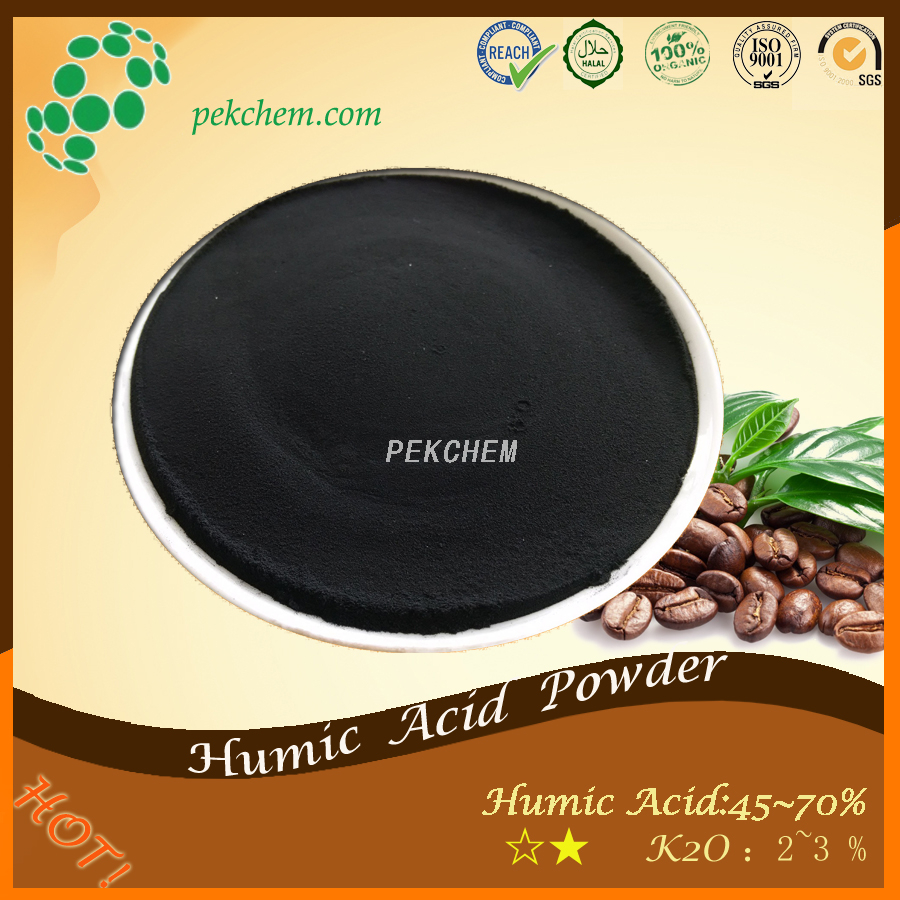 Humic acid powder nutrient