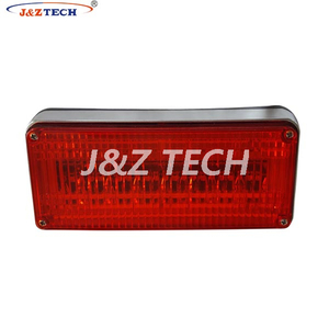 Ambulance 7.8 x 3.5x1.5 inch LED perimeter surface mount light