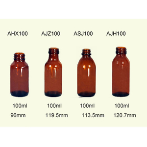 100ml Glass Pharmaceutical Bottles