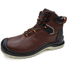Genuine Leather Composite Toe Most Comfortable Safety Shoes for Work