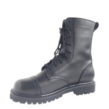 military combat boots all leather Goodyear welt