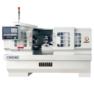 "CK6140 15 1/2"" x 29 1/2"" CNC Lathe with 4 Positions Toolpost & 2 1/3"" Bore"