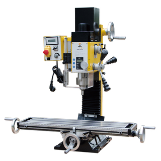 "ZAY7020V 27 9/16"" x 7 1/16"" Gear Drive Milling Machine"